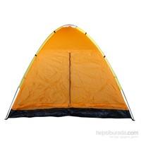 Discovery 6 Kişilik Turuncu Kamp Çadırı Su Geçirmez