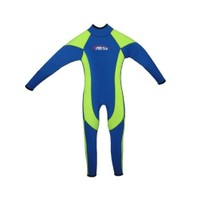 Free-Sub Surf Çocuk Elbise 3Mm Sarı-Kırmızı Beden:L