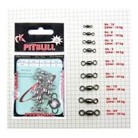 Pitbull Crane Swivel - Beyaz 5 Adet - No:2/0