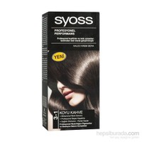 Syoss 3-1 Koyu Kahve Saç Boyası
