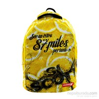 Bagbound Lemons Baskılı Sırt Çantası