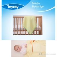 Mycey Müslin Kumaş Battaniye / Yeşil