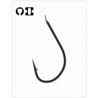 Prusa Fishing Fudo 190 Keıryu İnce Dövme İğne -Düz- Nikel No:7