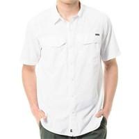 Columbia Am7474-100 Silver Ridge Beyaz Erkek Gömlek