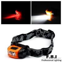 F.B.I Çift Başlı Kafa Feneri - F-7000