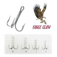 Eagle Claw L777 (4X) Laser Sharp Beyaz Üçlü İğne 5 Adet No:1/0
