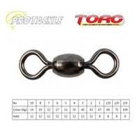 Protackle Toro Crane Swivel Fırdöndü Black Nikel No:1