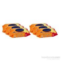 Fresh'n Soft Classic Islak Bebek Havlusu – 6'lı Eko Paket (540 Adet)