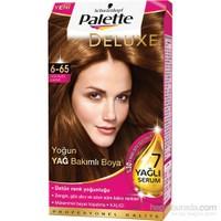 Palette Deluxe 6.65 Altın Parıltılı Kakao Saç Boyası