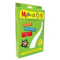 Makin's Clay Hava İle Kuruyan Polimer Kil 500 Gr Beyaz