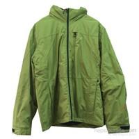Maıer Herren Packaway M Tex 10000 Dış Katman Ceket / Parlak Yeşil - 48