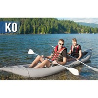Aqua Marina K0 Leisure Kayak-2 Person-Inflatable Floor