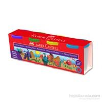 Faber-Castell Su Bazlı Oyun Hamuru 4 Klasik Renk
