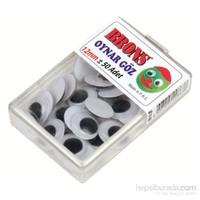 Brons Br-611 Oynar Göz 12 mm Plastik