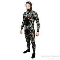 Apnea Legent 3D 5Mm Kamuflaj Serbest Dalış Elbisesi