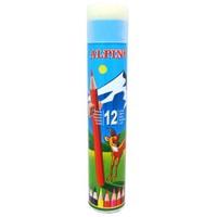 Alpino 12 Renk Uzun Tüp Kuruboya Kalemi