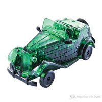 Klasik Yeşil Araba Crystal Puzzle