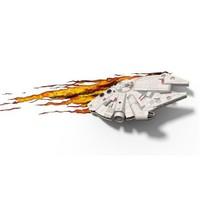 3D Light Fx Star Wars Millennium Falcon Duvar Lambası