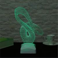 Dekorjinal 3 Boyutlu Modern Geometrik Lamba V23d012