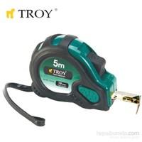 Troy 23122 Stoperli Şerit Metre (2Mx16mm) Mıknatıslı