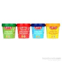 Lets L8360 4 Renk Jumbo Oyun Hamuru 1200 Gr.