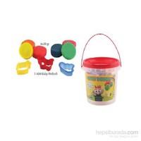 Lets L8700 6 Renk Plastik Kovalı Oyun Hamuru 360 Gr.(Kalıp Hediyeli)