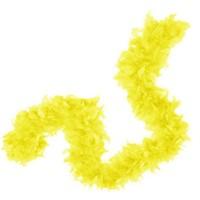 Pandoli 6 Cm Sarı Renk Tüylü Otriş Kalın Boa 2 Metre