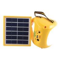 Powermaster Şarjlı Solar Aydınlatma Seti Tek Panelli