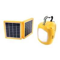 Powermaster Radyolu Şarzlı Solar Aydınlatma Seti Çift Panelli