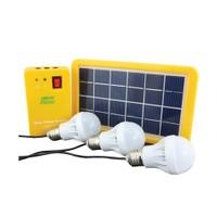 Powermaster Şarjlı Solar Aydınlatma Seti Üç Ampullü
