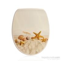 Kırılmaz Desenli Klozet Kapağı - Kumsal