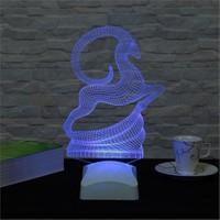 Dekorjinal 3 Boyutlu Geyik Modern Lamba V23d045