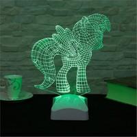 Dekorjinal 3 Boyutlu Ponny Lamba V23d047