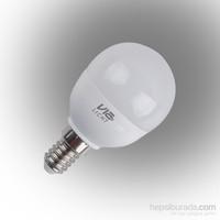 Vialicht 5W (40W) Led Damla Ampul E14 470 Lümen Sarı Işık