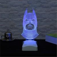 Dekorjinal 3 Boyutlu Batman Lamba V23d031