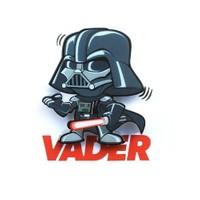 3D Light Fx Star Wars Darth Vader Mini Duvar Lambası