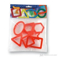 Jovi Oyun Hamuru Kalıbı Geometrik Şekiller