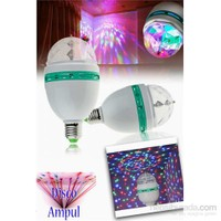 Dekoratif 360 Derece Dönen LED Disko Lamba