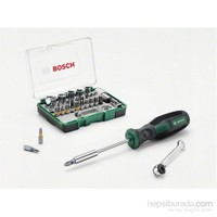 Bosch 27 Parça Cırcır Tornavidalı Aksesuar Seti