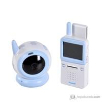 Weewell Dijital Bebek İzleme Cihazı – Kablosuz 150m - Gece ışığı - Rahatlatıcı melodiler