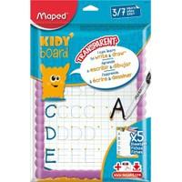 Maped 583710 Çocuk Tahtası Esnek Ve Trasparan Kit