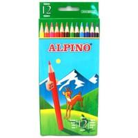 Alpino 12 Renk 1/1 Kuruboya Kalemi AL-654 Tam Boy