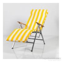 Muhtelif Vural Katlanır Yatarlı Şezlong Yatak Koltuk Sandalye