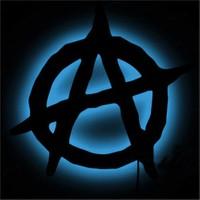 Dekorjinal Gölge Lamba Anarchy Sembolü Glmb038