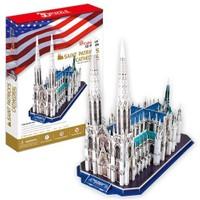 Cubic Fun Puzzle Saint Patrick's Cathedral (3 Boyutlu)