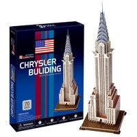 Cubic Fun Puzzle Chrysler Building (3 Boyutlu)