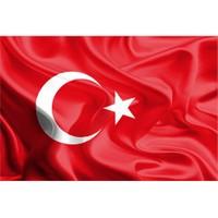Martı Türk Bayrağı Bayrak Ölçüleri 150X225 Cm