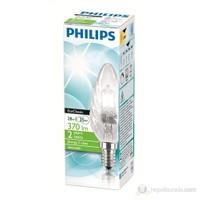 Philips EkoKlasik 28W Ampul E14 Bw35 Cl - Sarı Işık