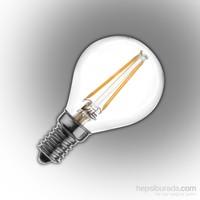 Vialicht 2W(20W) G45-COG Led Filament Damla E14 Ampul 210lm 270° 2700K