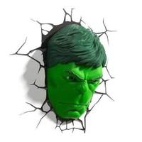 3D Light Fx Hulk Face Duvar Lambası